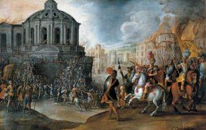 Sacco di Roma – vyplienenie Ríma