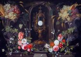 van Kessel, Jan; Still Life of Flowers and Grapes Encircling a Monstrance in a Niche; National Galleries of Scotland; http://www.artuk.org/artworks/still-life-of-flowers-and-grapes-encircling-a-monstrance-in-a-niche-210235