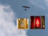 Dnes bude Slovensko požehnané relikviou Kristovej krvi z paluby lietadla